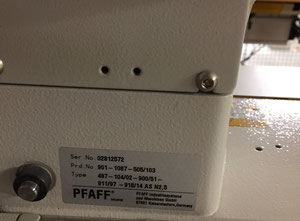 Maszyna tekstylna Pfaff Pfaff 487
