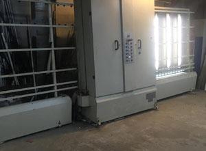 Metall Glas MG 1600 ZAFIR vertical glass washing machine.