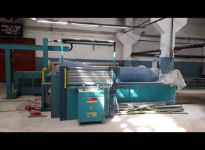 Benninger BEN-Supertronic sectional warping  SF-P Kleistermaschine