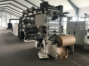 Newlong LHNL 610 - 6 col flexo stack (year 2000 renovated in 2016)