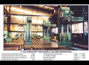 Union BFP 160 Double Column Горизонтально-расточной станок