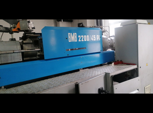 BMB KW 2200 / 45PI Injection moulding machine