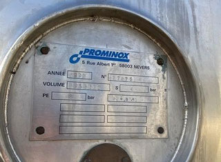 Prominox AGITATED REACTOR 19566 LITRES S/S 316L P00520038
