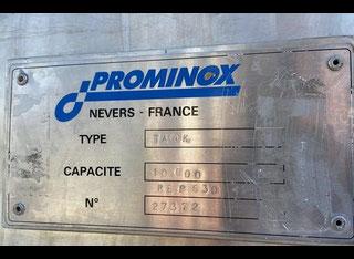 Prominox 10.000L TANK S/S 316L TYPE NUPE 10.000L P00520043