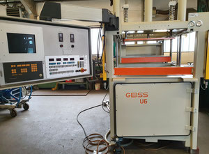 Geiss DU 1000 x 800 U6 Thermoforming - Sheet Processing Machine