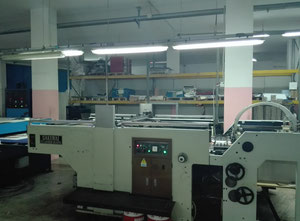 Used Sakurai SC 102 Screen printing machine