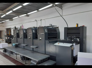 Heidelberg PM74-4 Offset four colours