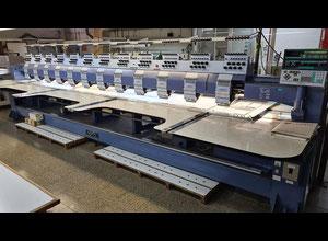 Happy HMF - L812 - 78TTC Mehrkopf-Stickmaschine