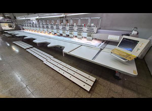 ZSK XCF 1511-400 Multi-head embroidery machine