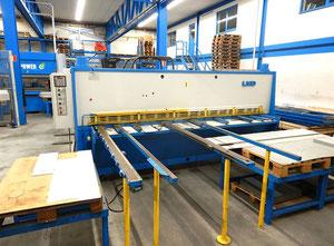 Nożyce gilotynowe hydrauliczne LVD HSL 3100 x 6 mm CNC