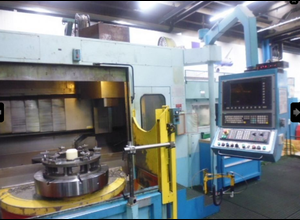 IMT S 32/2 CNC vertical turret lathe with C axis and double pallet