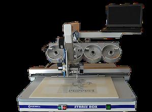 Vyšívací stroj Gemfix Tajiservi Portugal GEMfix Strassbox Pro