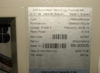 ABB IRB6600 M2000A P00602047