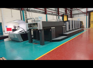 Offset cinco colores Heidelberg CX 102 5 + LX