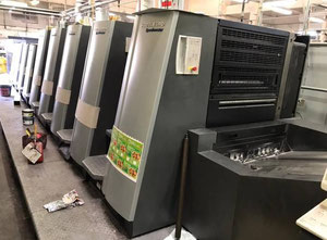 Offset 5 kolorow HEIDELBERG XL 75 5 LYYL