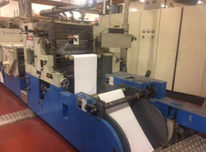 GIEBLER 520 Web continuous printing press