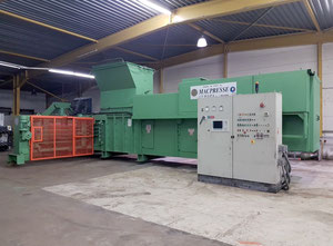 Macpresse MAC 111 AS/1 Recycling machine