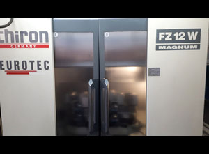 Chiron FZ12W Magnum Machining center - palletized