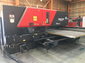 Amada Apelio III 2610 Vipros Combination Punch Press with 31 Station Turret with 3 Auto Indexing Units 2KW Laser Combining machine laser / punch