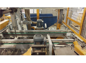 WIKOMA Sultan Lade Line for cutting in length, testing and stapling of slats