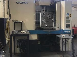 Centro di lavoro orizzontale usato Okuma MX 50 HB