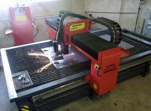 Máquina de corte por plasma / gas Nessap 1600 Kombi PLUS