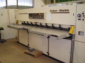 Used Fisher Ruckle FSZ90 Finger Joint machine