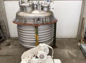 Serbatoio Jean Berthier Agitated reactor 2940L S/S 316TI
