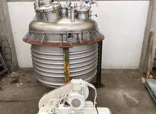 Jean Berthier Agitated reactor 2940L S/S 316TI P00610055