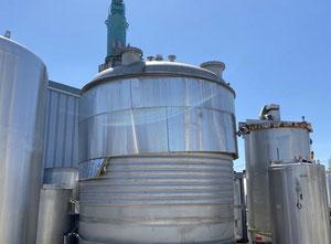 CICR Agitated reactor 45850L S/S 316L Behalter