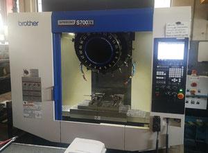 Used Brother SPEEDIO S700X1 high torque Machining center - vertical