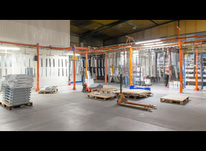 Cabine de peinture Monkiewicz Powder Coating Plant