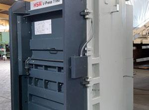 Macchina di riciclaggio di plastica HSM GmbH & Co. KG V-Press 1160 Plus