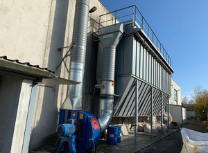 Used Mion &Mosole mc/h 75000 Dust collector