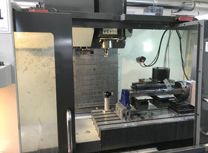 Haas VF-3SS Machining center - vertical with HRC 210 rotary table and renishaw probe
