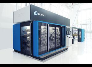 Imprimante d'étiquettes Soma OPTIMA 820 8 EG