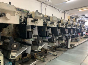 Nilpeter FA3300S Label printing machine