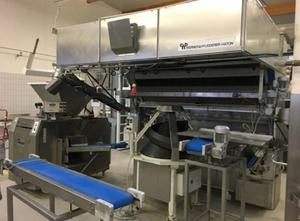 Werner & Pfleiderer Bip-72 Brot- oder Brötchen Komplette Produktionslinie