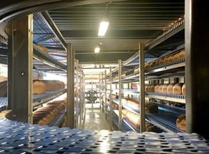 Linia produkcyjna chleba Jonge Poerink Ashworth