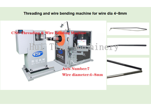 Machine à rouler les filets Changzhou Hui Ting Machinery Co., Ltd. CNC Threading & Wire Bending Machine