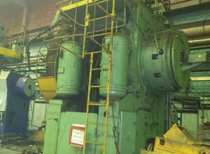 Kovací lis TMP Forging press VORONEZH K 8040 1000t, Trimming press model KG9534.01 250t.