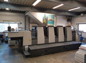 Used Komori L428 Offset four colours