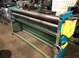 Calandra motorized bending cylinder 2000X6