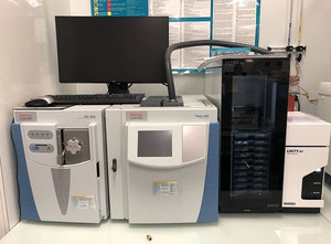 GCMS Thermo +Markes GC 1310 Analytical instrument