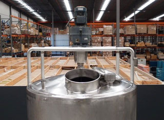 Stainless Steel Mixing Tank - P00622092