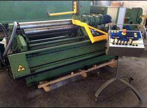 Used C&G 1000x3 mm Plate rolling machine - 4 rolls
