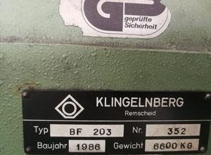 Dentatrice a creatore con cnc Klingelngberg BF 203