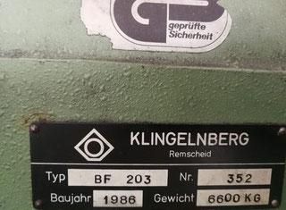 Klingelngberg BF 203 P00623076