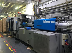 BMB 2200/38 PI Injection moulding machine