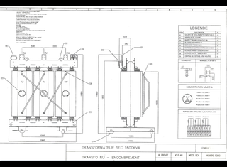 Mf Trasformatori Srf 1600KVA sec imprégné P00625117